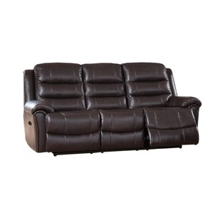 Astoria 2 Piece Leather Living Room Set by Amax