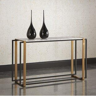 Garnet Marble Console Table
