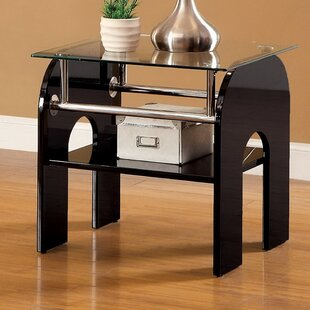 Swooping End Table
