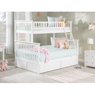 Abel Twin Over Full Bunk Bed with Drawers