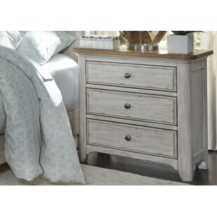 Clairmont 3 Drawer Nightstand by Laurel Foundry Modern Farmhouse