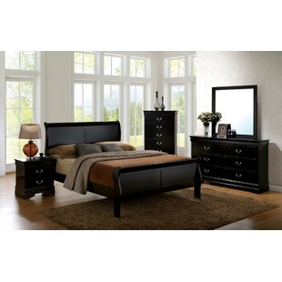 Alvarez Sleigh Bed by DarHome Co Best Choices