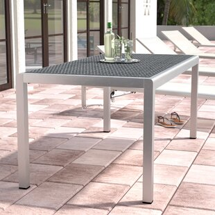 Durbin Aluminum Patio Dining Table
