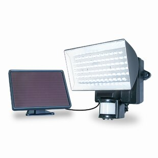 Geren 40-Watt LED Solar Powered Dusk to Dawn Battery Operated Outdoor Security Flood Light by Ebern Designs