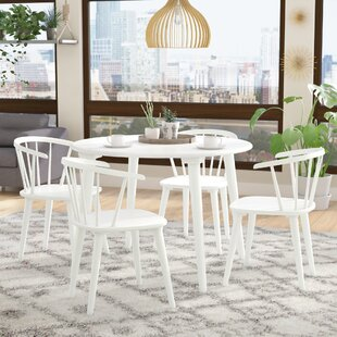 Arielle 5 Piece Wood Dining Set Langley Street