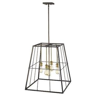 Thorson 5-Light Geometric Chandelier by Williston Forge