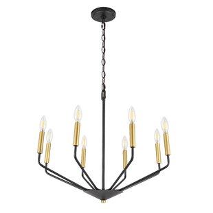Wrought Studio Vennie 8-Light Candle Style Chandelier