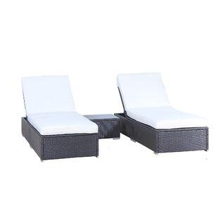 3 Piece Chaise Lounge Set ..