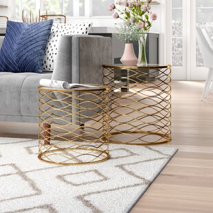 Brixton 2 Piece Nesting Table by Willa Arlo Interiors