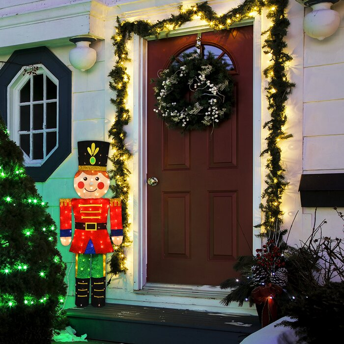 Candy Cane Lane 2d Pre Lit Yard Art Décor Toy Solr Lighted Display