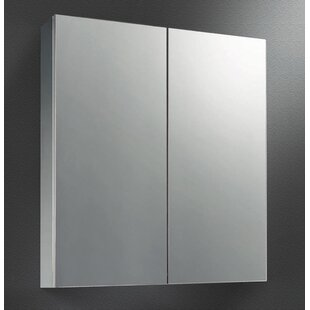 Jarod Dual Door 23 x 26 Surface Mount Medicine Cabinet by Ebern Designs