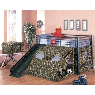 Naveen Camouflage Twin Low Loft Bed by Zoomie Kids