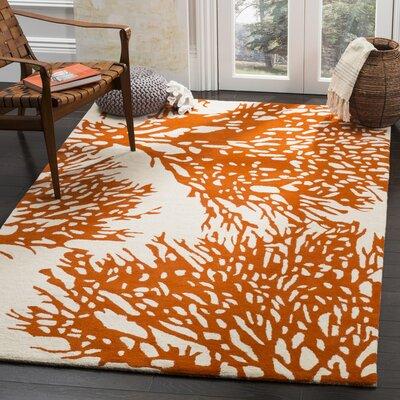 Orange Area Rugs Birch Lane