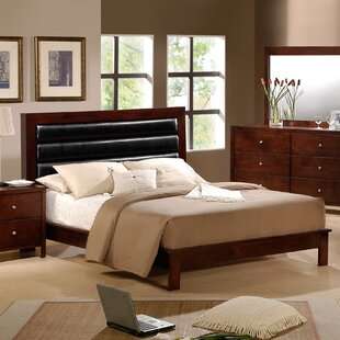 Sarah Upholstered Panel Bed by..