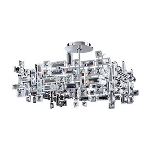 Allegri by Kalco Lighting Vermeer 8-Light Crystal Chandelier