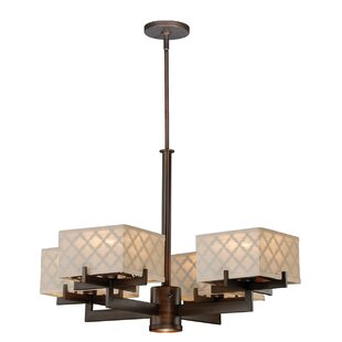 House of Hampton Mcculley 5-Light Shaded Chandelier