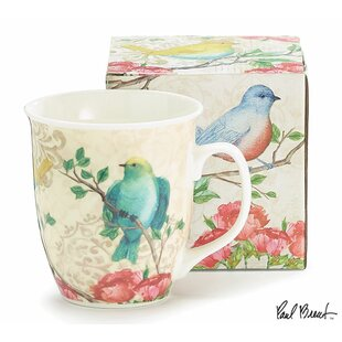Bastine Blossoming Birds Coffee Mug (Set of 6)