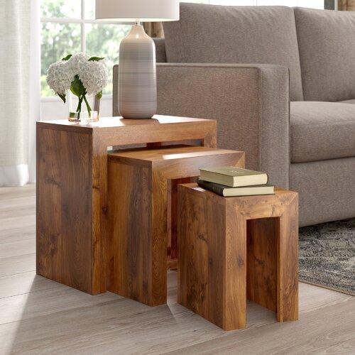 3 Satztische Cube Alpen Home | Wohnzimmer > Tische > Satztische & Sets | Alpen Home