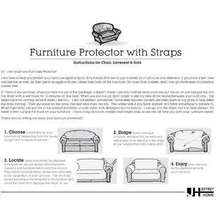 Ruffled Box Cushion Sofa Slipcover By House Of Hampton