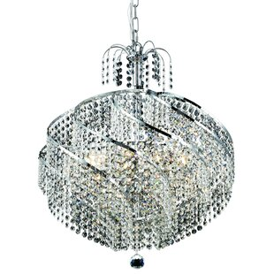 House of Hampton Landgraf 10-Light Crystal Chandelier