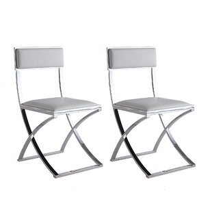Dercho Upholstered Dining Chair (Set of 2) by Orren Ellis