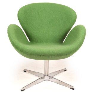 Trumpeter Swivel Lounge Chair by Kardiel