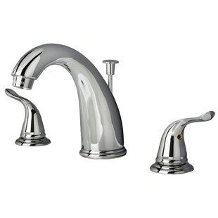 Laguna Brass Widespread Lavatory Faucet with Drain Assembly