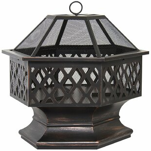 Belleze Steel Wood Burning Fire Pit