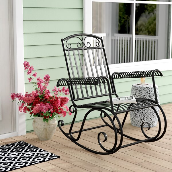 Prime Outdoor Patio Rocking Chair Wayfair Gamerscity Chair Design For Home Gamerscityorg