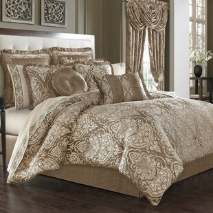 Cauley 4 Pieces Comforter Set