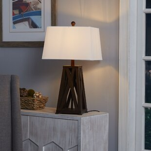 Westhought Wood X-Frame 24'' Table Lamp Base