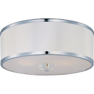 Latitude Run Pagano 3-Light Flush Mount
