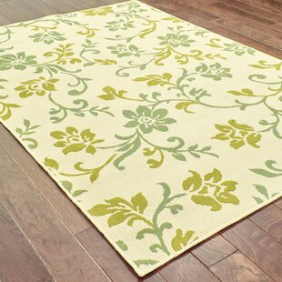 Kaydence Green/Beige/Blue Indoor/Outdoor Area Rug