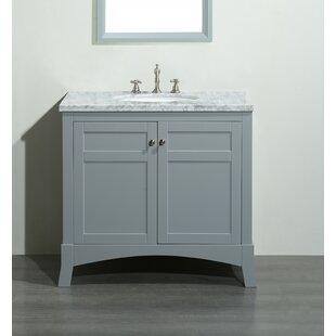 Buy luxury Piccirillo 36 Single Bathroom Vanity Set ByBrayden Studio