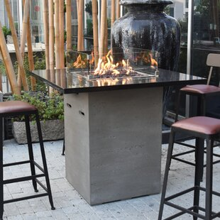 Uriel Concrete Propane Fire Pit Table By Sol 72 Outdoor