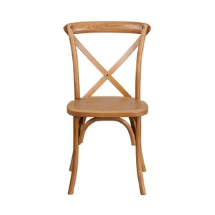 Mortola Solid Wood Dining Chair Gracie Oaks