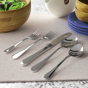 Eliora 20 Piece Flatware Set, Service for 4