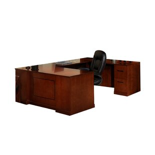 Sorrento Series 2-Piece U-Shape Desk Office Suite