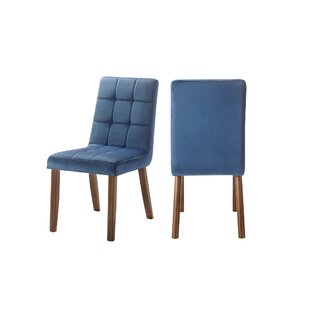Singleton Tufted Upholstered Dining Chair (Set of 2) by Brayden Studio