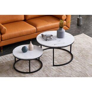 Order New Kopstal 3 Piece Coffee Table Set By Brayden Studio