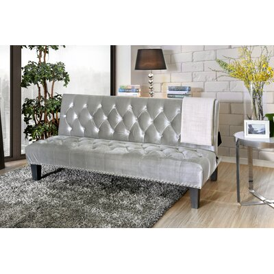 Gumbs Transitional Convertible Sofa Upholstery: Gray by Alcott Hill