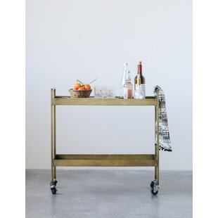 Carleen 2-Tier Bar Cart by Williston Forge