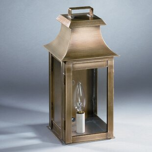 Bargain Concord 1-Light Outdoor Flush Mount By Northeast Lantern