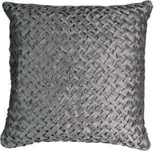 Chacenay Faux Silk Throw Pillow