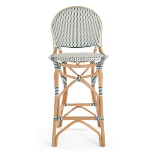 Tawanna Rattan Bar Stool by Bayou Breeze