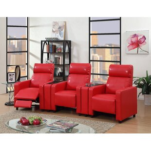 Ketter Push Back 3Piece Home Theater Sofa