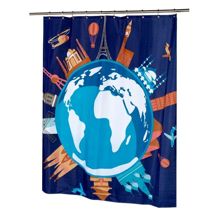 Ben And Jonah World Shower Curtain