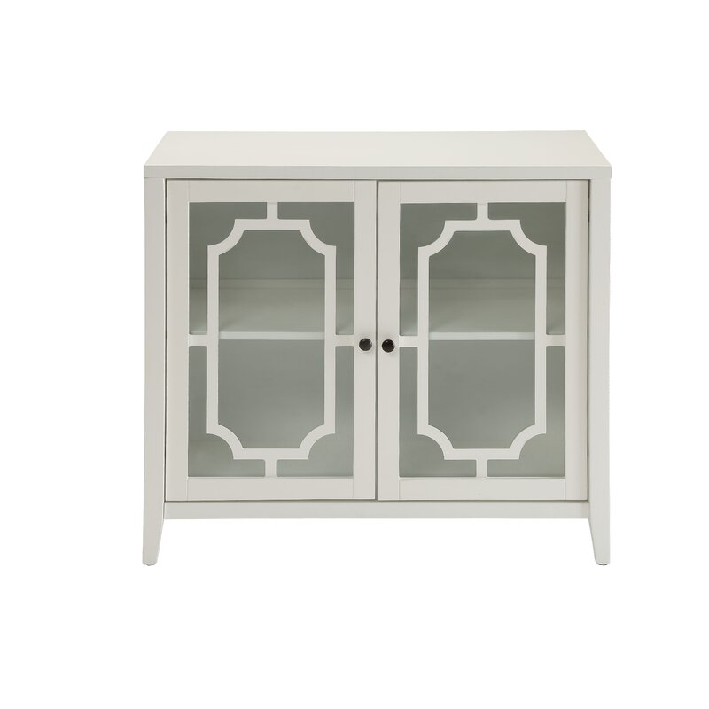 Acme Furniture Ceara 2 Door Accent Cabinet Reviews Wayfair