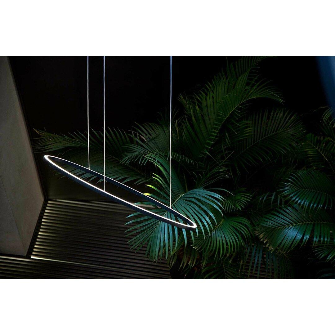 Ellisse Minor Linear 1-Light LED Kitchen Island Pendant