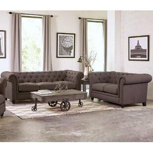 Infini Furnishings Geneva 2 Piece Living Room Set